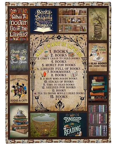 Books All I Want In Life Is