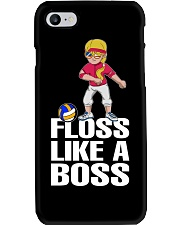 Volleyball Floss Like A Boss Phone Case tile