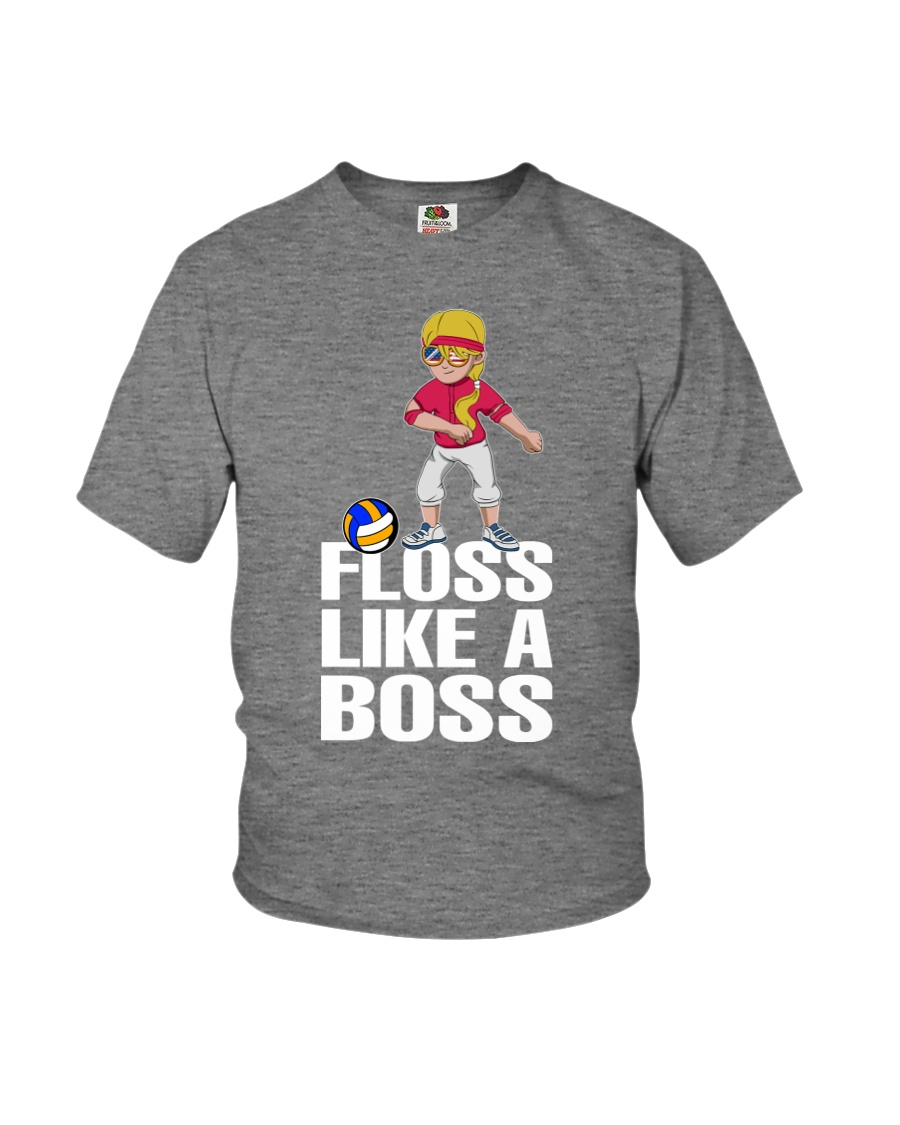 Volleyball Floss Like A Boss Youth T-Shirt
