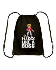 Volleyball Floss Like A Boss Drawstring Bag tile