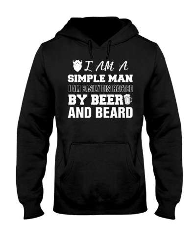 I am easily distracted by beer and beard