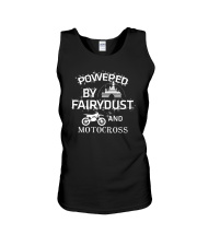 Powered By Motocross Unisex Tank thumbnail