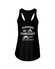 Powered By Motocross Ladies Flowy Tank front