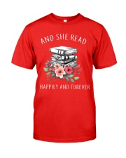 Read Books and Happy Classic T-Shirt front