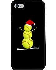 Softball Christmas  Phone Case thumbnail
