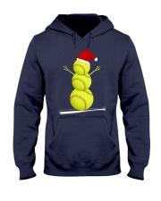 Softball Christmas  Hooded Sweatshirt thumbnail