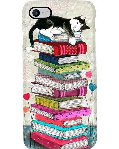 Cat Book Sleep