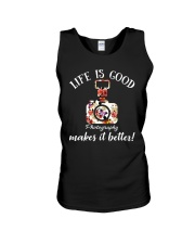 Photography Makes it Better Unisex Tank tile