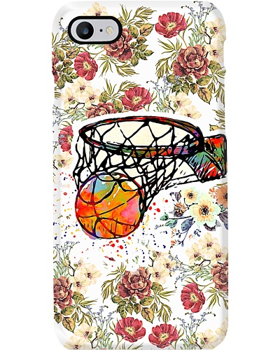 Basketball Flower Beauty Phonecase