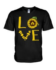 Camping Love V-Neck T-Shirt thumbnail