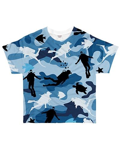Scuba Diving Camouflage