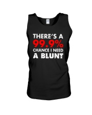 WEED - CHANCE I NEED A BLUNT Unisex Tank thumbnail