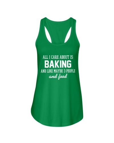 All I care about is baking