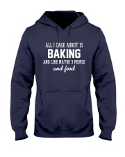All I care about is baking Hooded Sweatshirt thumbnail