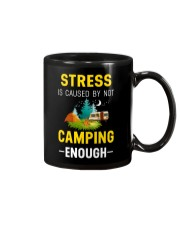 Stress is caused by not camping enough Mug thumbnail