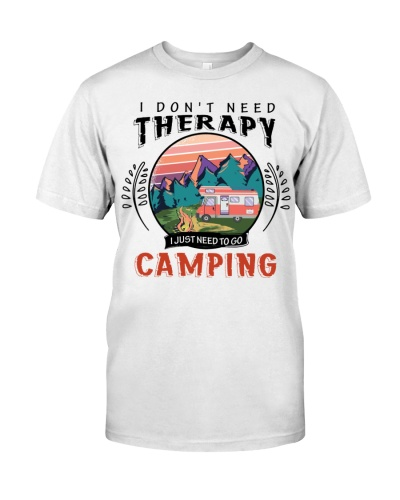 Camping I Don't Need Therapy