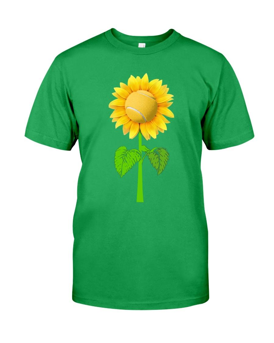 Tennis Beauty Sunflower  Classic T-Shirt