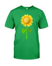 Tennis Beauty Sunflower  Classic T-Shirt front