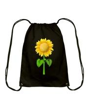 Tennis Beauty Sunflower  Drawstring Bag thumbnail