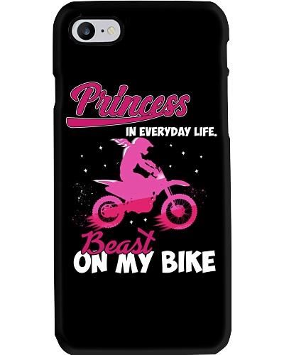 Motocross Princess In Everyday Life