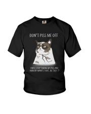 Cats--Don't Piss Me Youth T-Shirt thumbnail