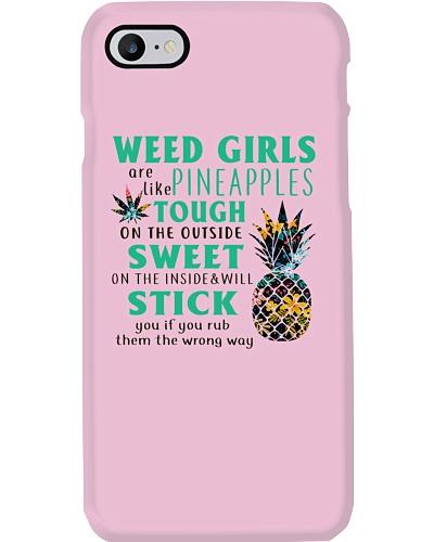 Weed Girls Are Like Pineapple