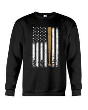 Baseball Flag America Crewneck Sweatshirt tile