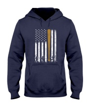 Baseball Flag America Hooded Sweatshirt thumbnail