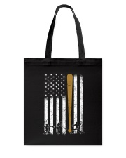 Baseball Flag America Tote Bag thumbnail