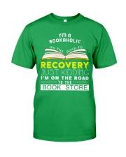 I'm a bookaholic Classic T-Shirt front
