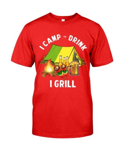 Camping I Camp I Drink I Grill