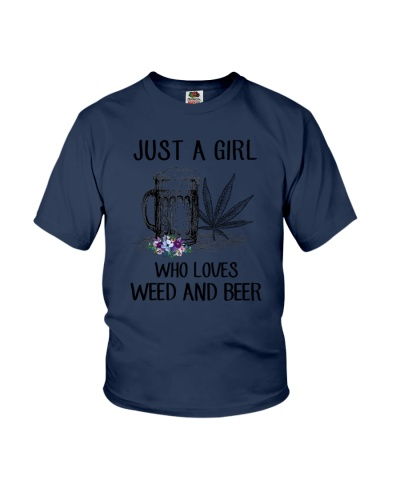 A Girl Loves Weed And Beer