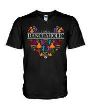 I Am A Danceaholic V-Neck T-Shirt thumbnail