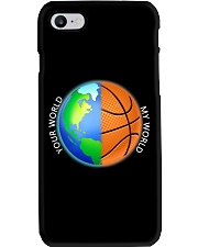 Basketball Your World My World  Phone Case thumbnail