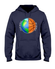 Basketball Your World My World  Hooded Sweatshirt thumbnail