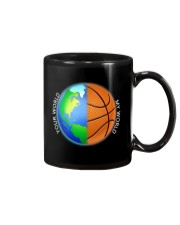 Basketball Your World My World  Mug thumbnail