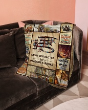 """Books Funny Blanket And Dragons Graphic Design Small Fleece Blanket - 30"""" x 40"""" aos-coral-fleece-blanket-30x40-lifestyle-front-05"""
