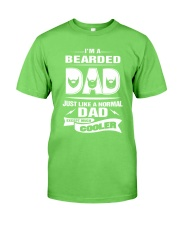 I'm a bearded dad Classic T-Shirt front