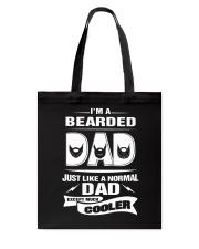 I'm a bearded dad Tote Bag thumbnail