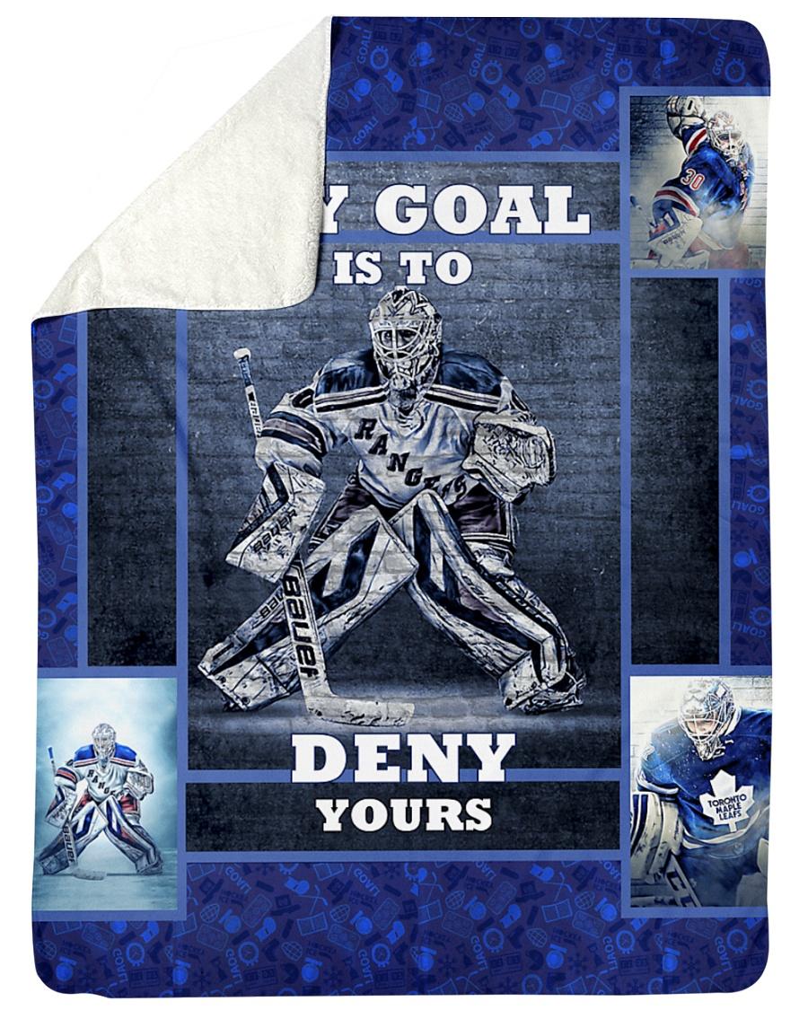 """Hockey Biggest Fan Large Sherpa Fleece Blanket - 60"""" x 80"""""""