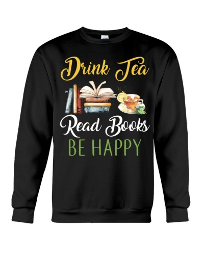 Books Drink Tea Reads Books