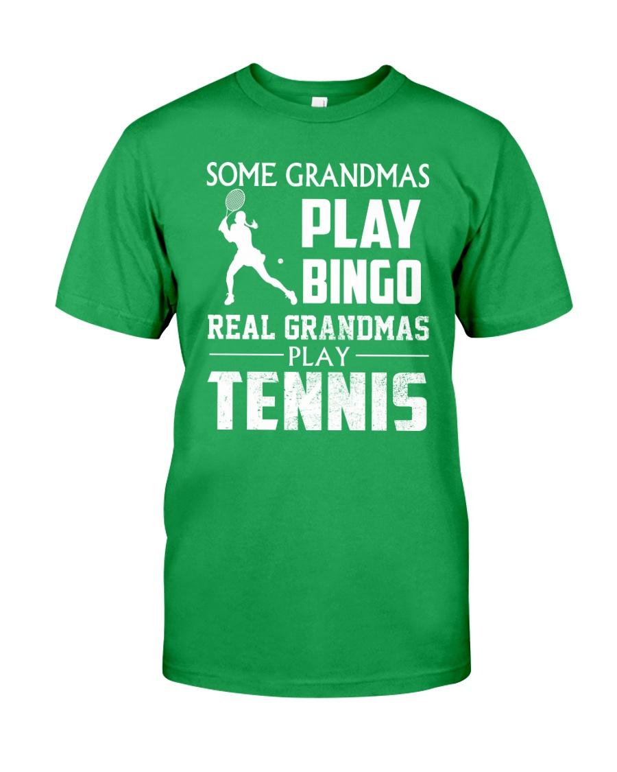 Real Grandmas Play Tennis Classic T-Shirt