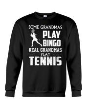 Real Grandmas Play Tennis Crewneck Sweatshirt thumbnail
