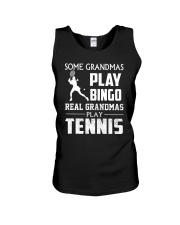 Real Grandmas Play Tennis Unisex Tank thumbnail