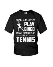 Real Grandmas Play Tennis Youth T-Shirt thumbnail