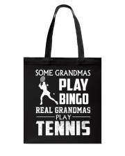 Real Grandmas Play Tennis Tote Bag thumbnail