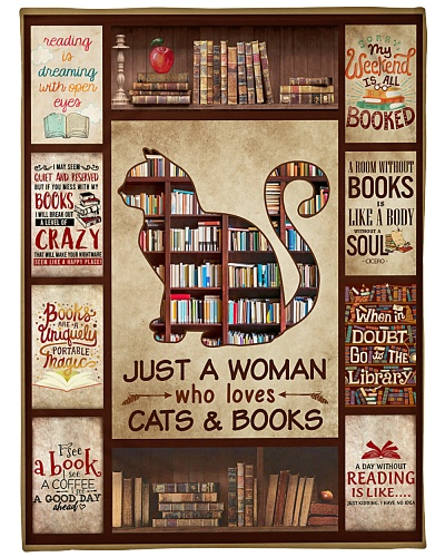Books Just A Woman Who Loves Cats And Books