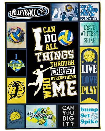 Volleyball Funny I Can Do All Thing Graphic Design