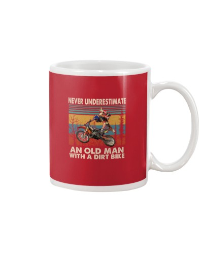 Motocross Never Underestimate An Old Man