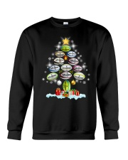 Hair Tree Noel Rugby  Crewneck Sweatshirt thumbnail